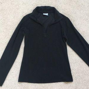 Columbia fleece 1/4 quarter zip pullover, XS